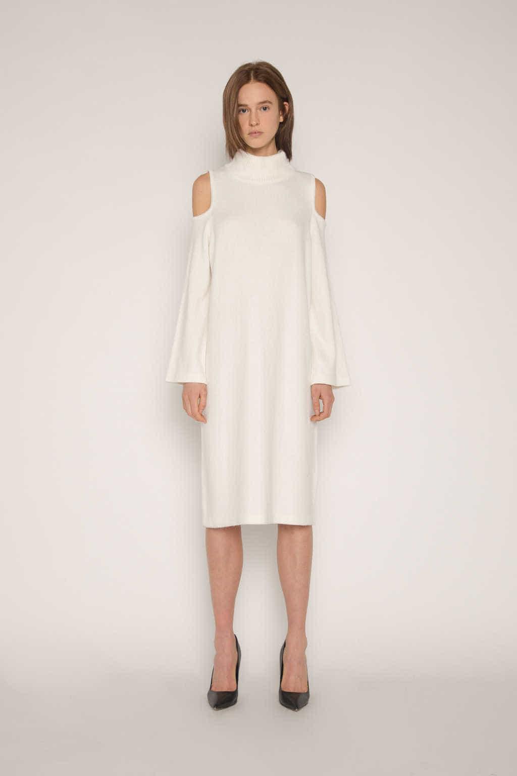 Dress 1671 Cream 1