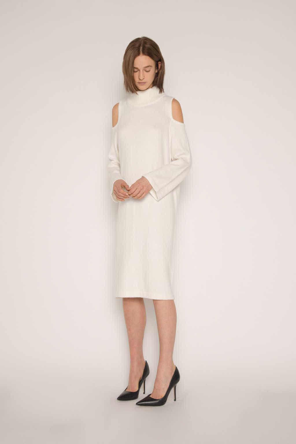 Dress 1671 Cream 3