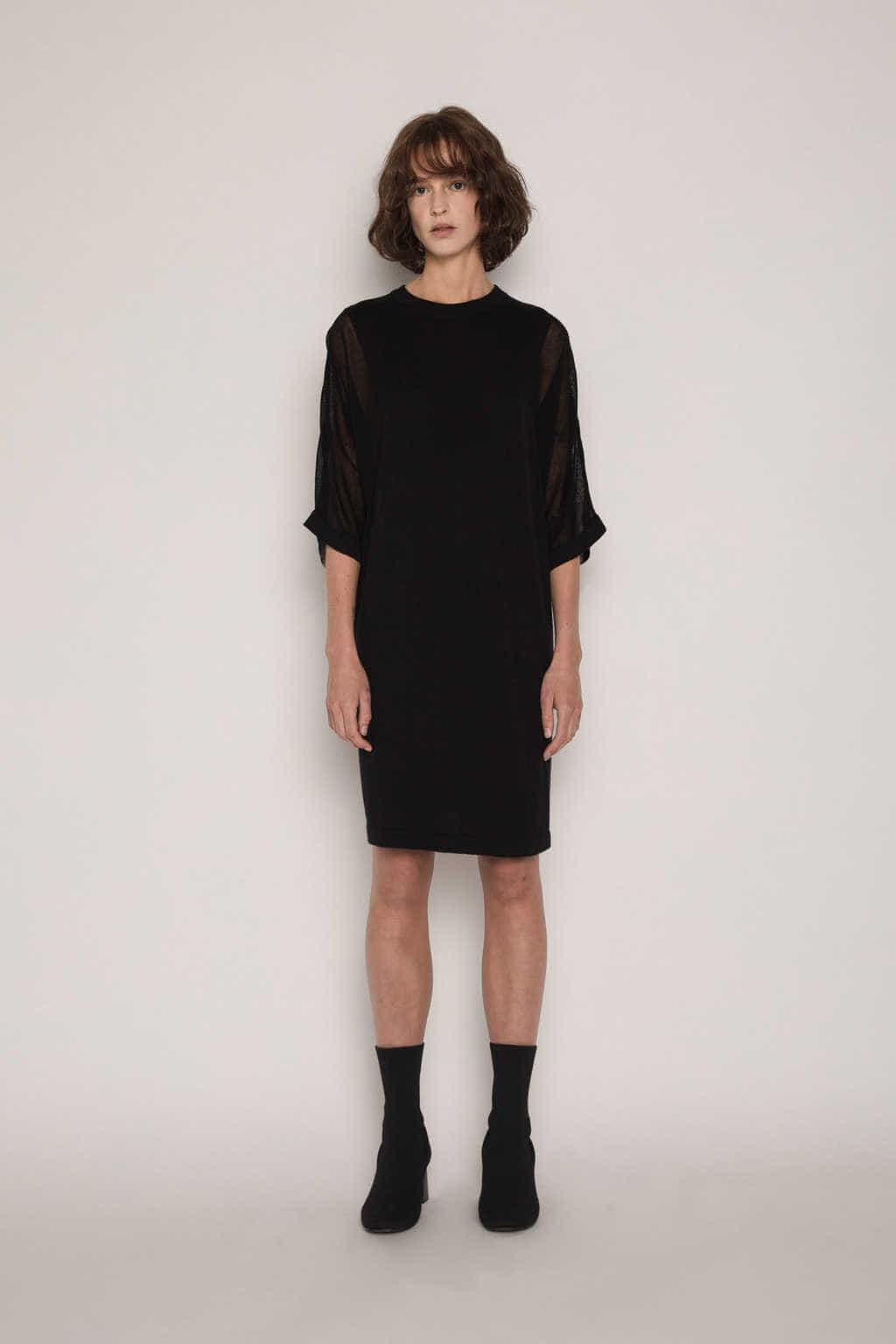 Dress 1719 Black 1