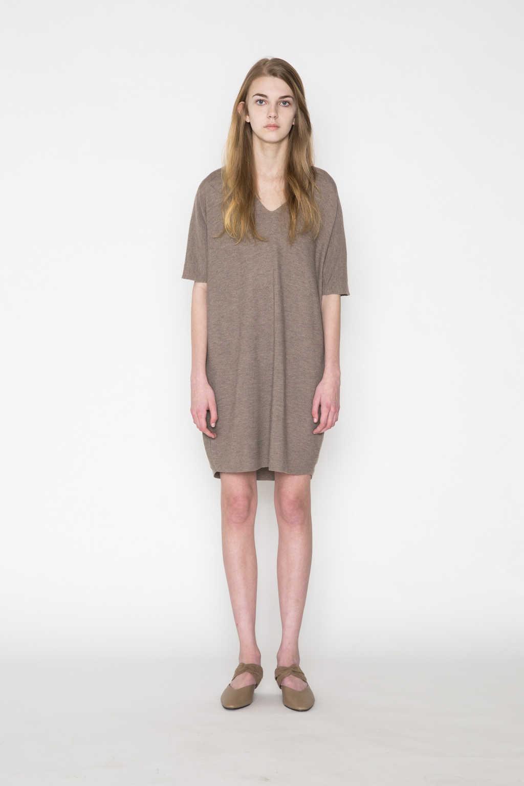 Dress 2457 Brown 3