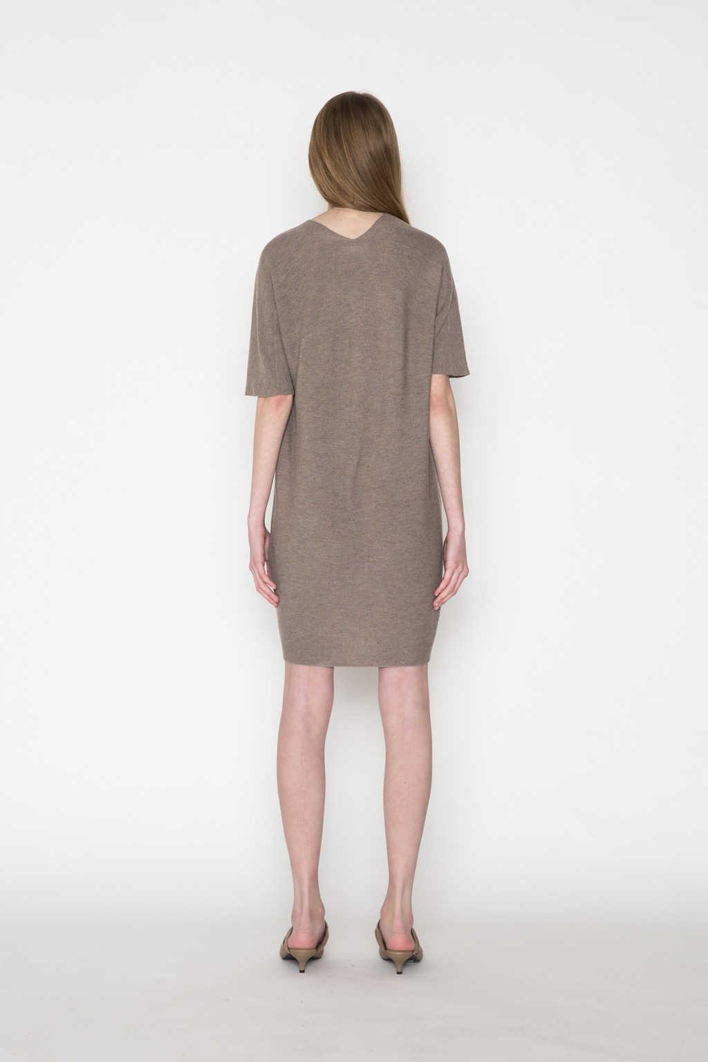 Dress 2457 Brown 4