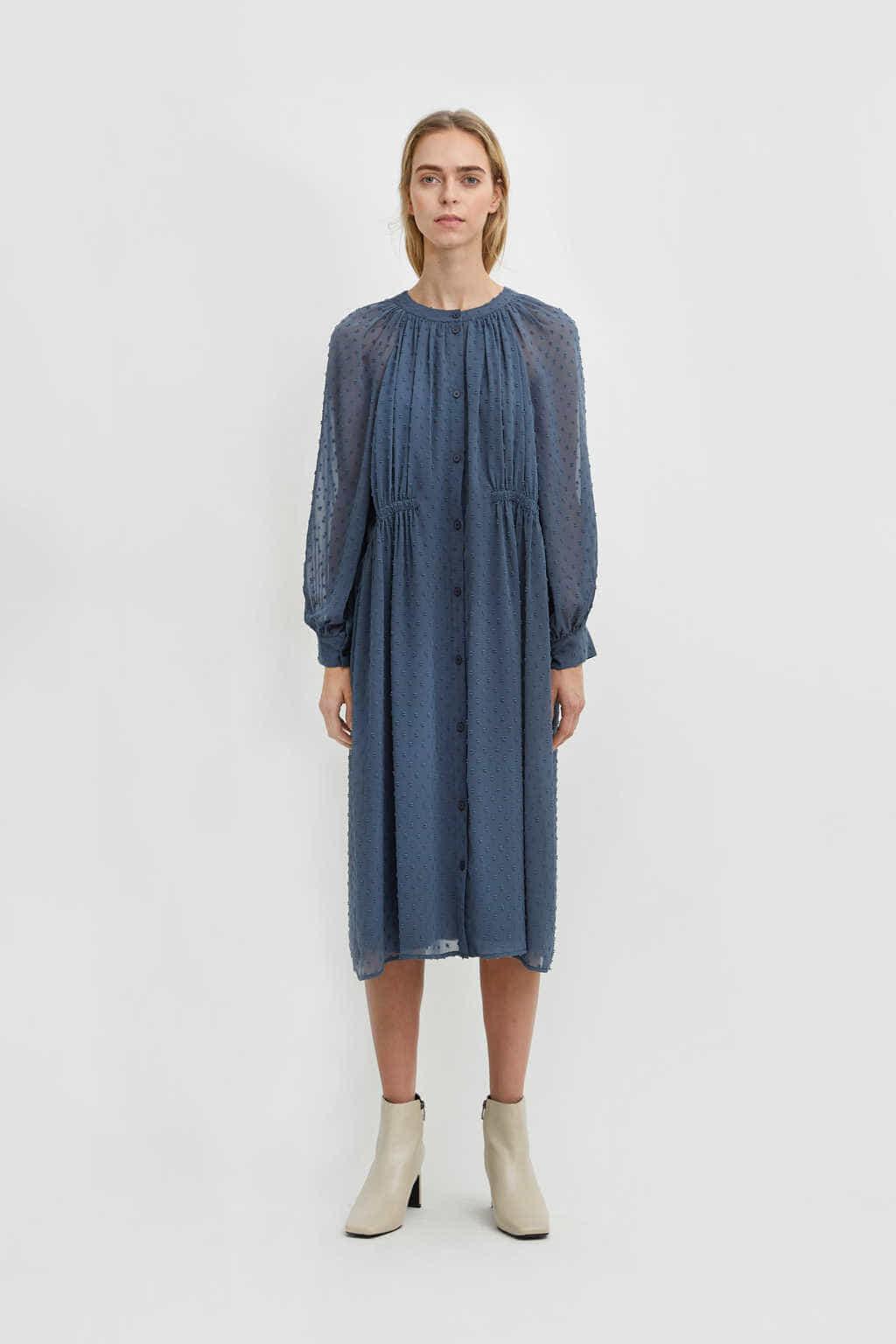 Dress 2613 Blue 8
