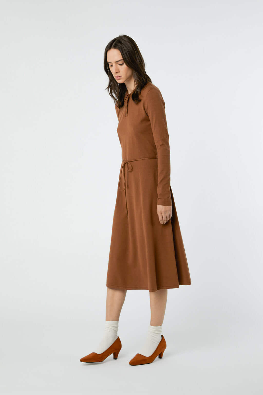 Dress 2868 Brown 10