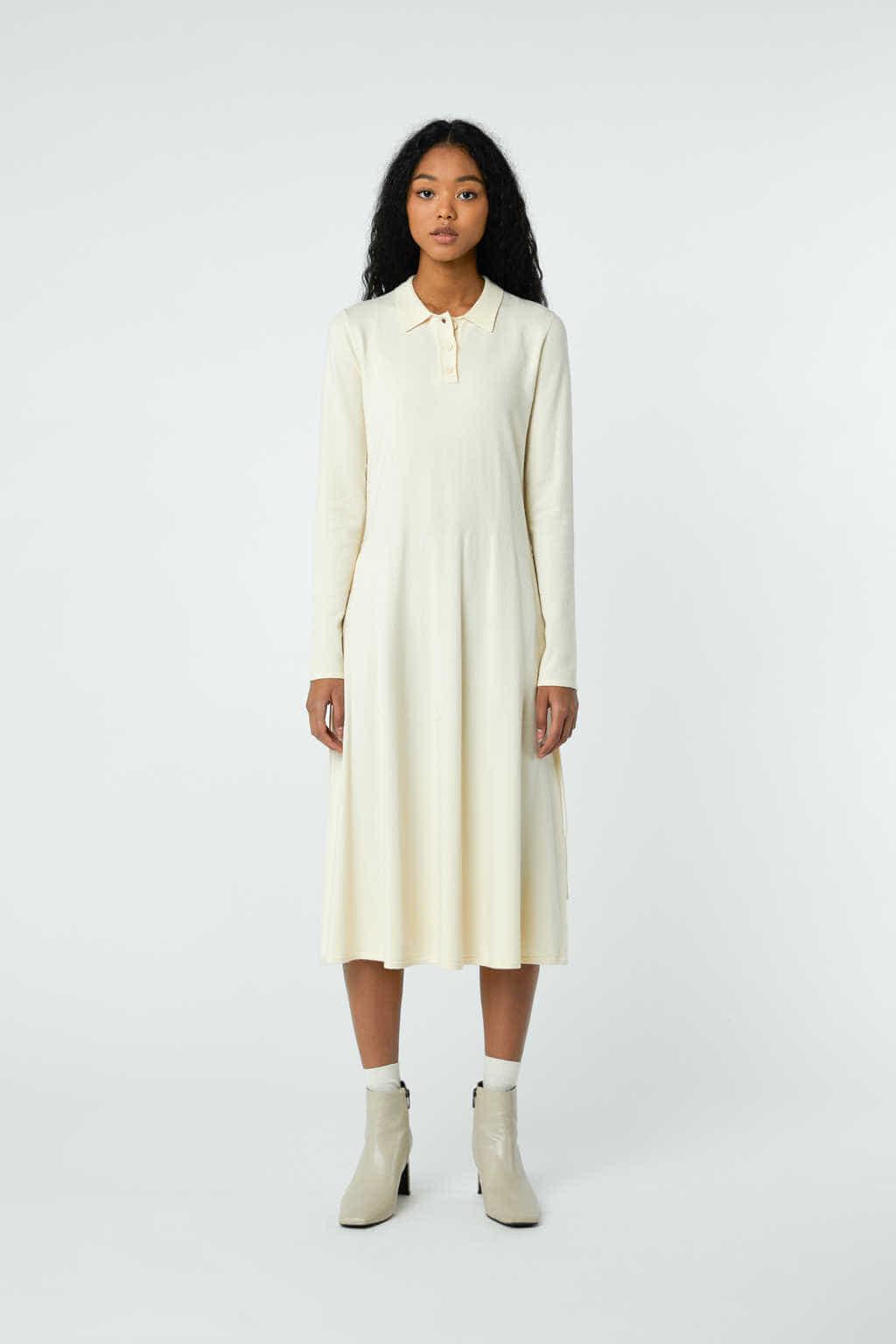 Dress 2868 Cream 3