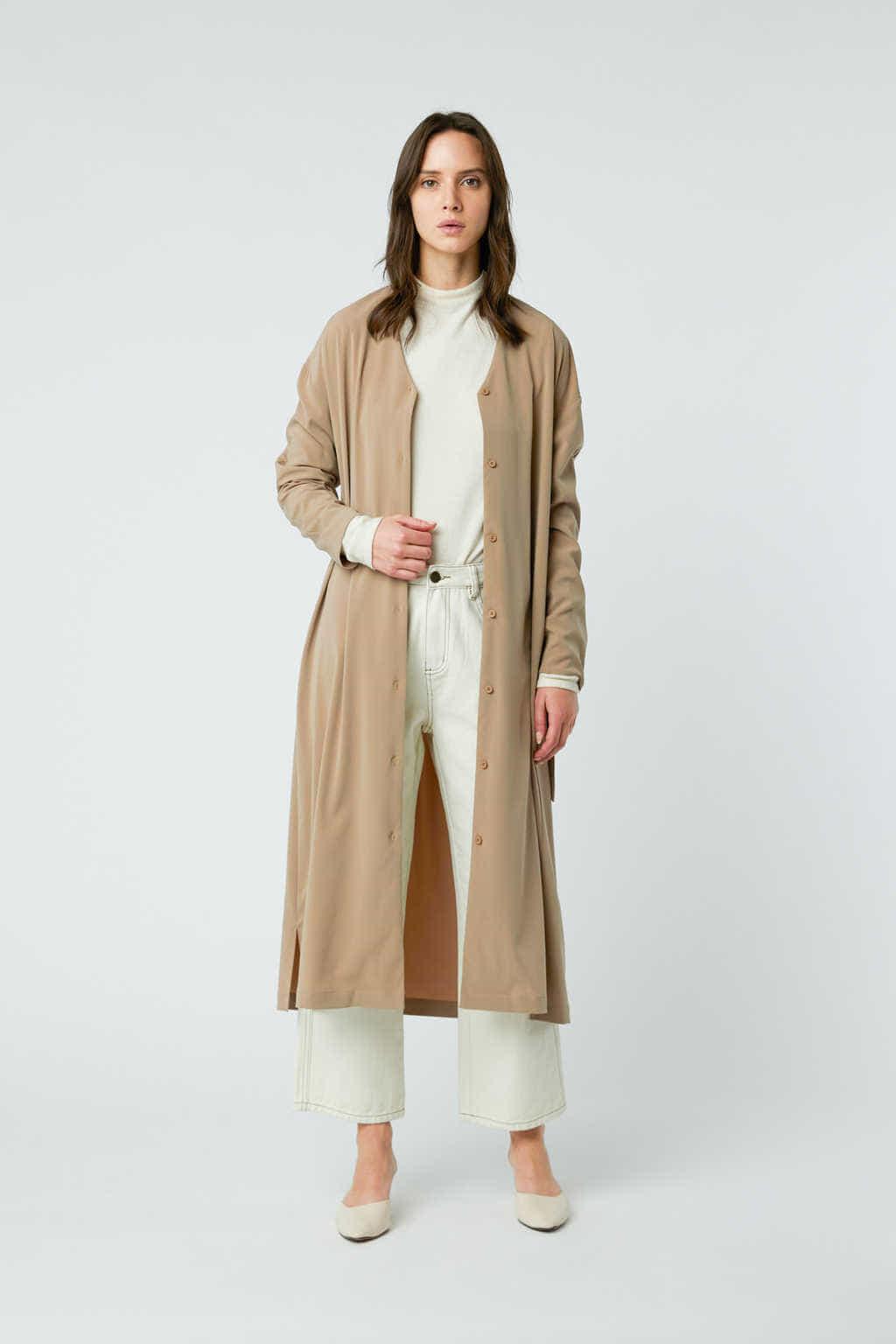 Dress 2958 Taupe 2