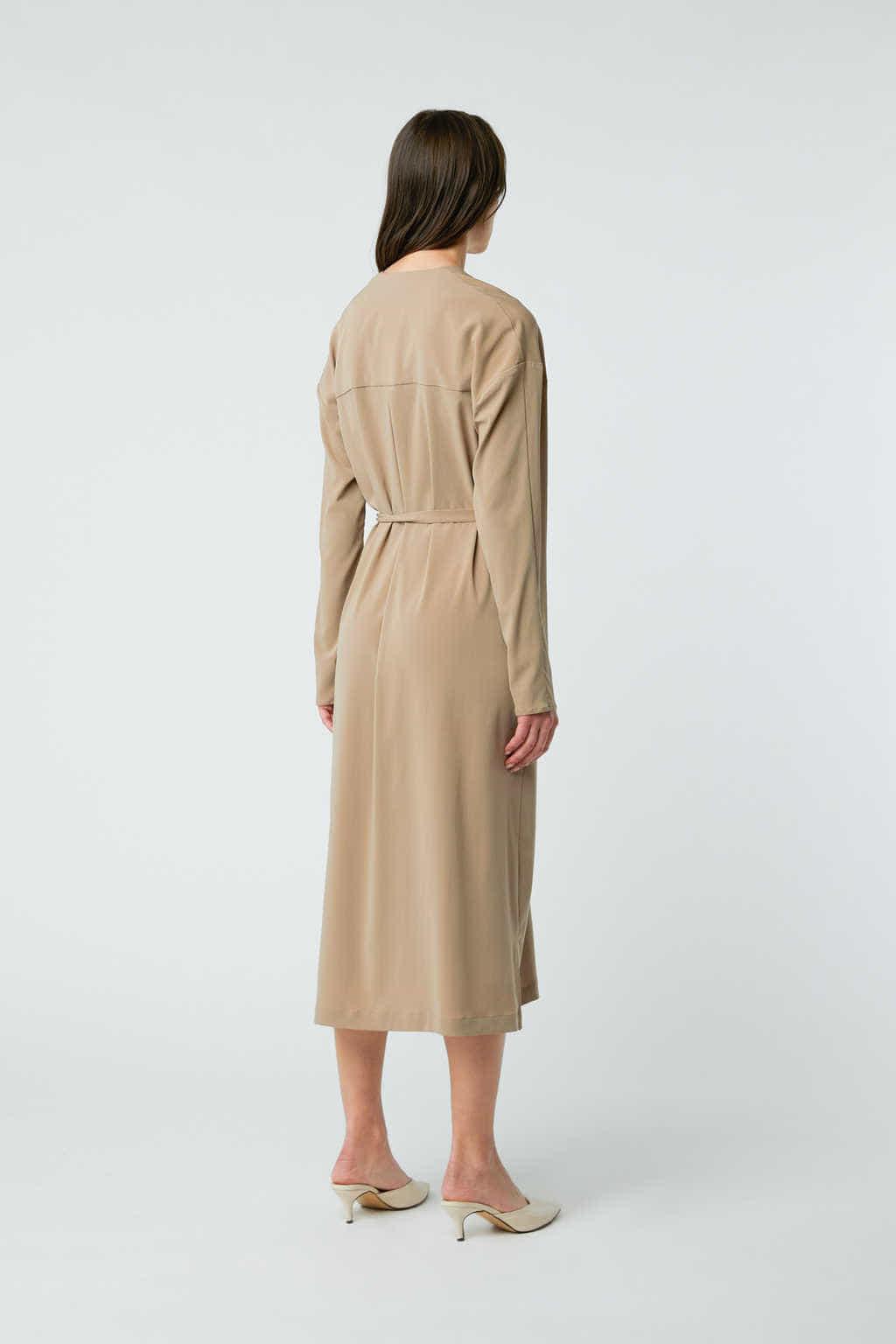 Dress 2958 Taupe 4