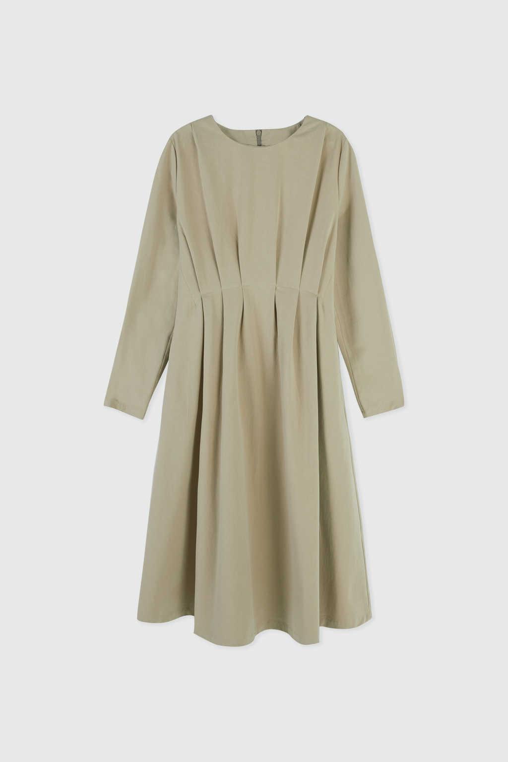Dress 3081 Khaki 4