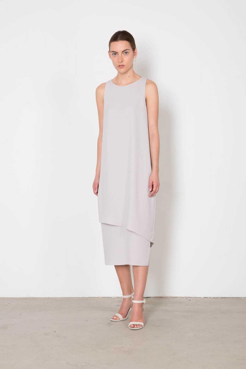 Dress 3123 Gray 3