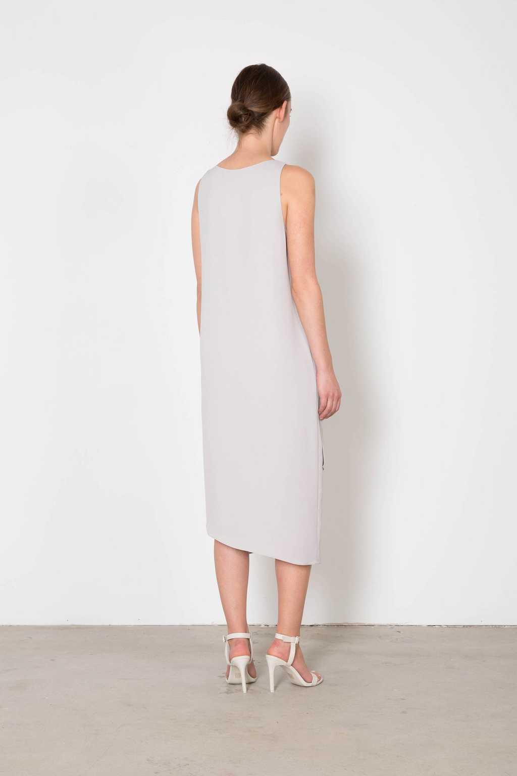 Dress 3123 Gray 4