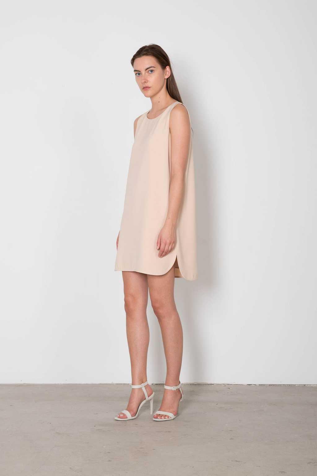 Dress 3135 Beige 1