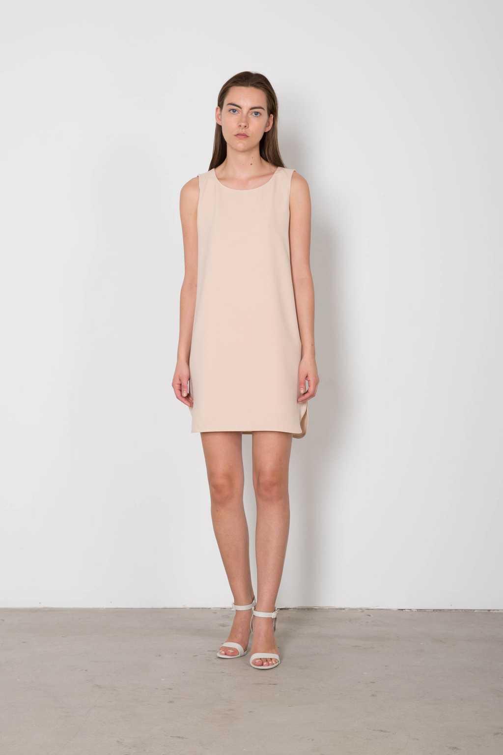 Dress 3135 Beige 2