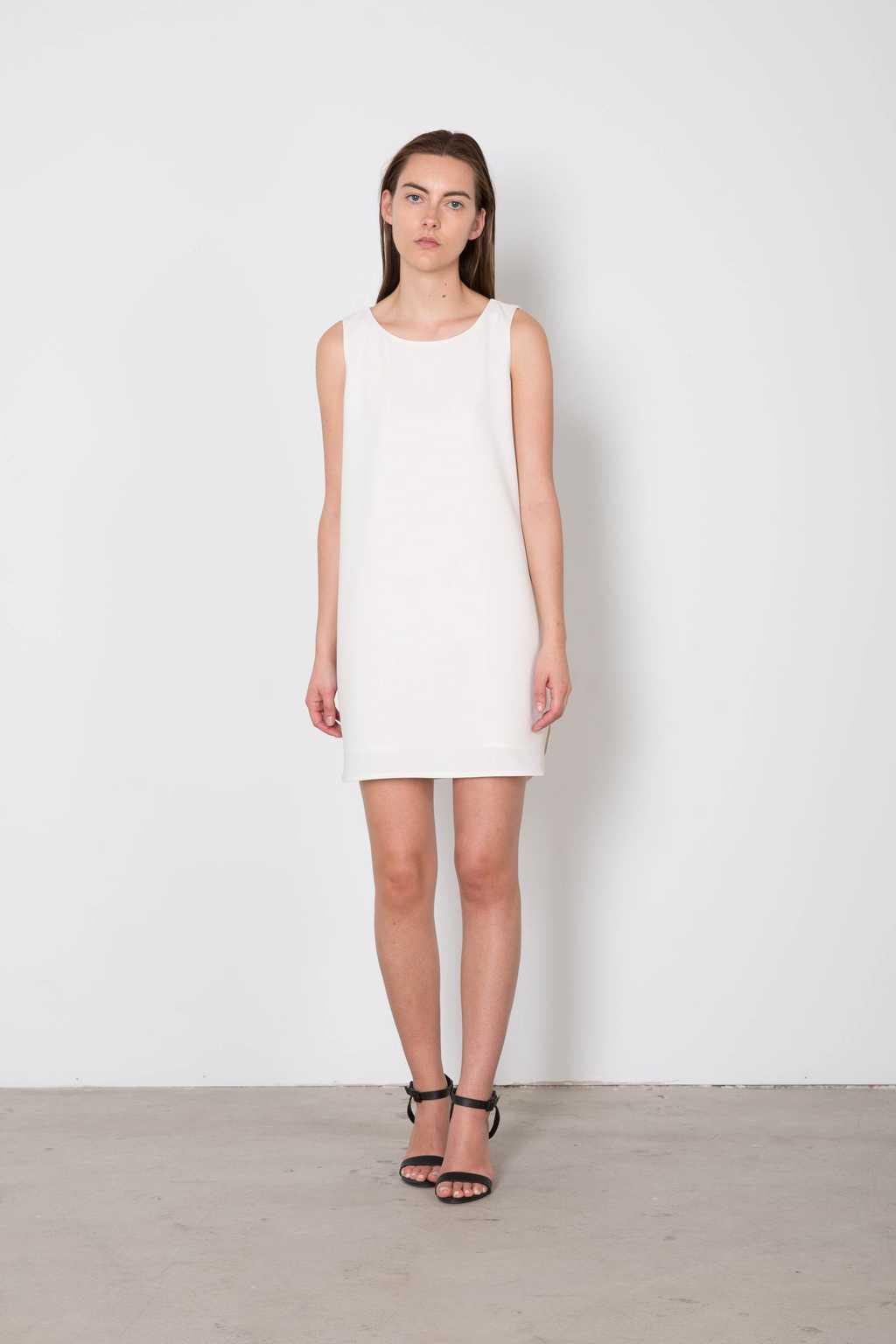 Dress 3135 White 4