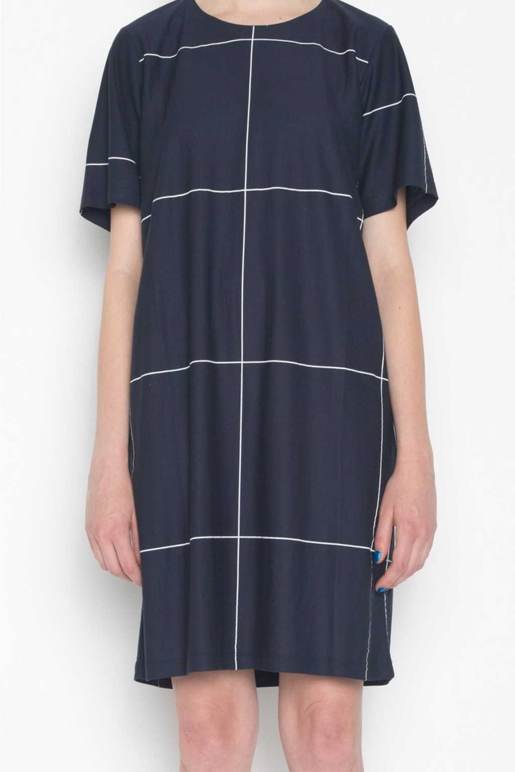 Dress 694 Navy 2