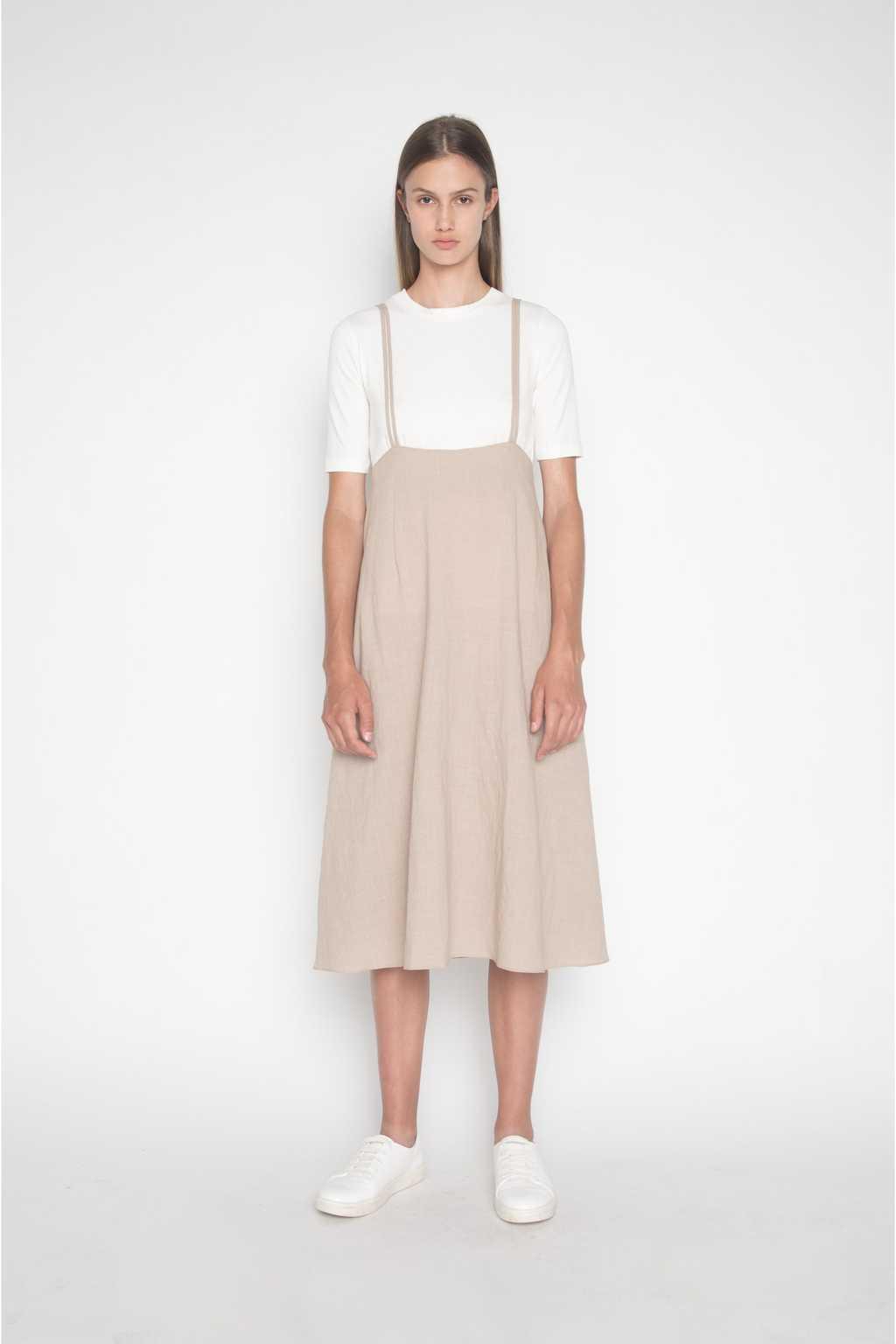 Dress H185 Beige 5