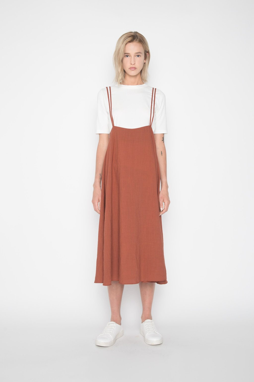Dress H185 Brown 1