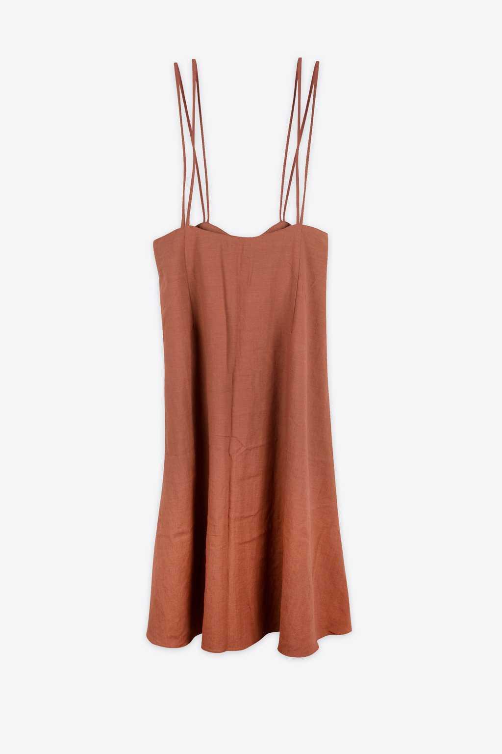 Dress H185 Brown 11
