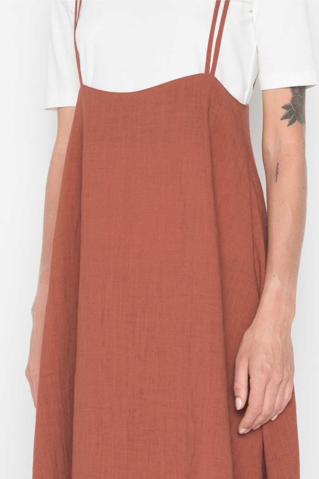 Dress H185 Brown 2
