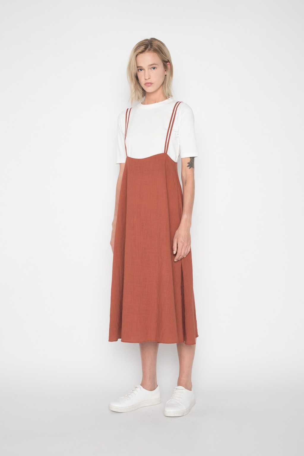 Dress H185 Brown 3