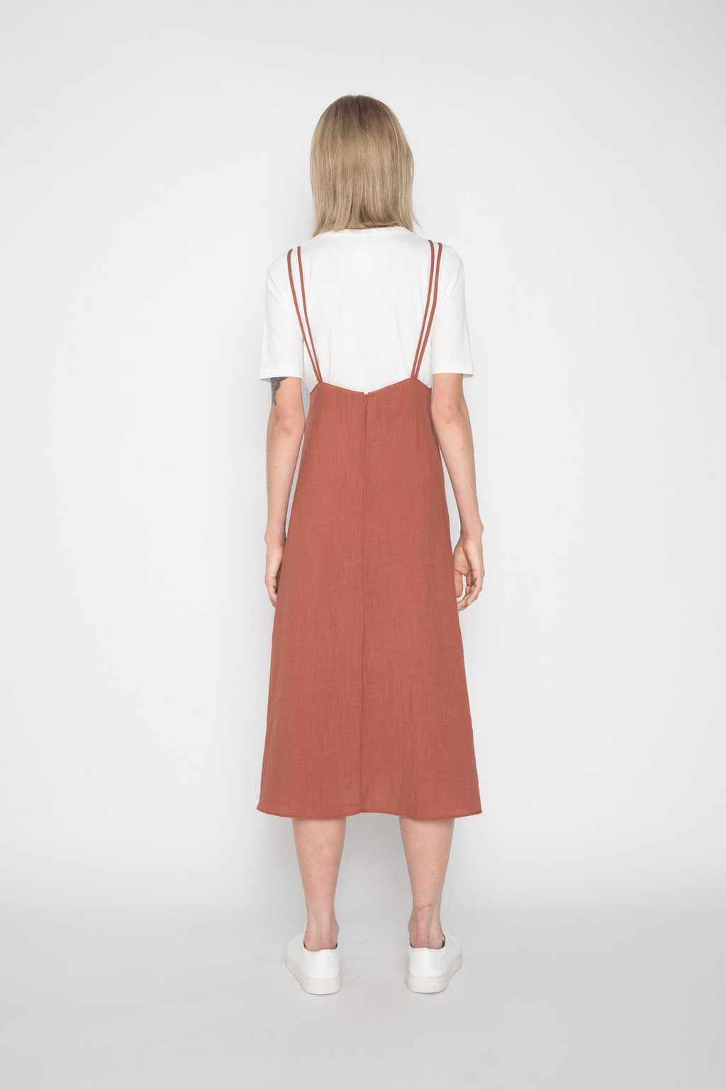 Dress H185 Brown 4