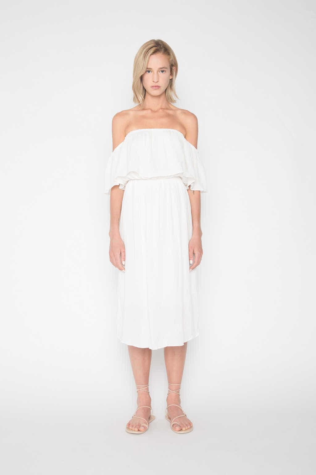 Dress H200 Cream 1