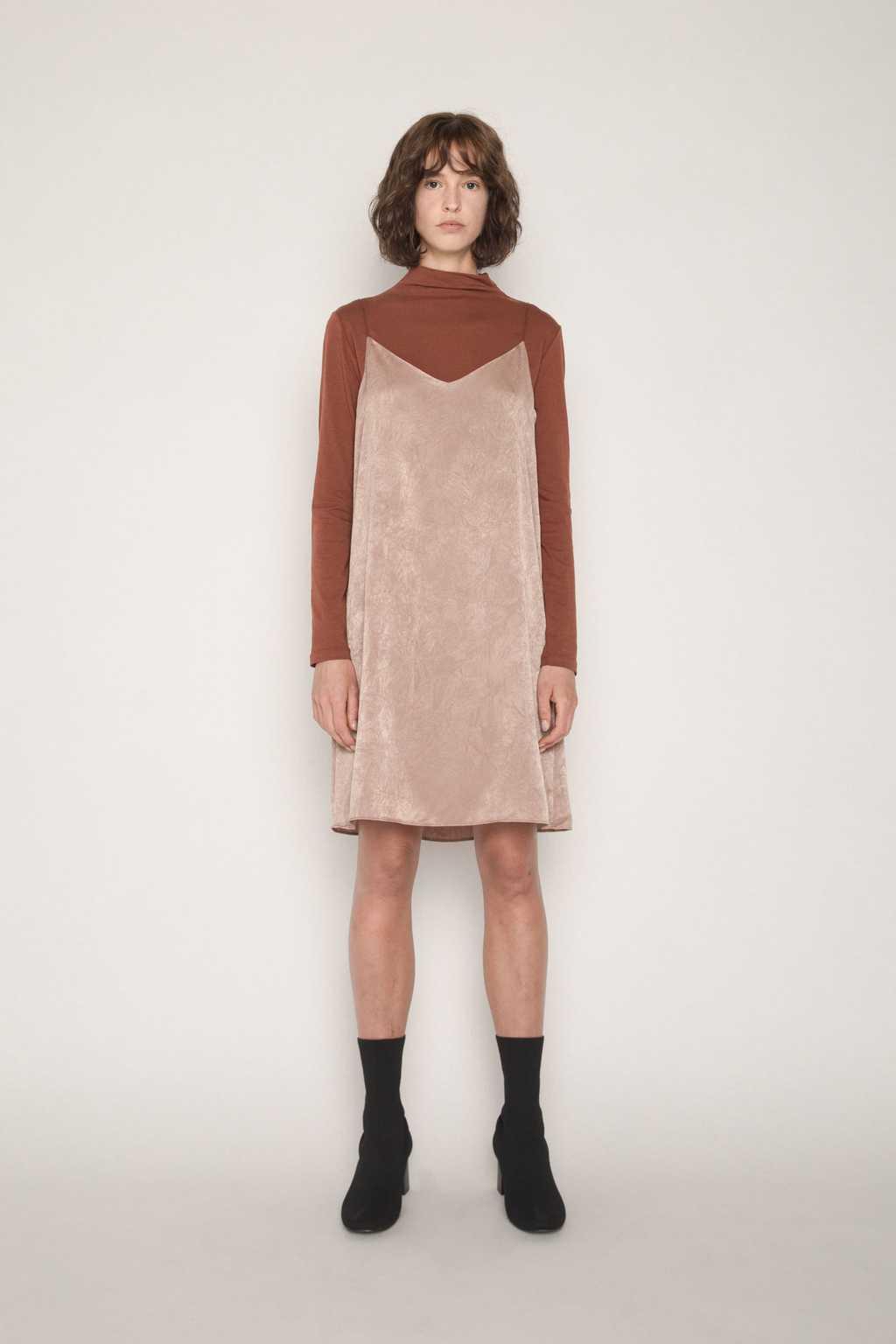 Dress H233 Beige 1