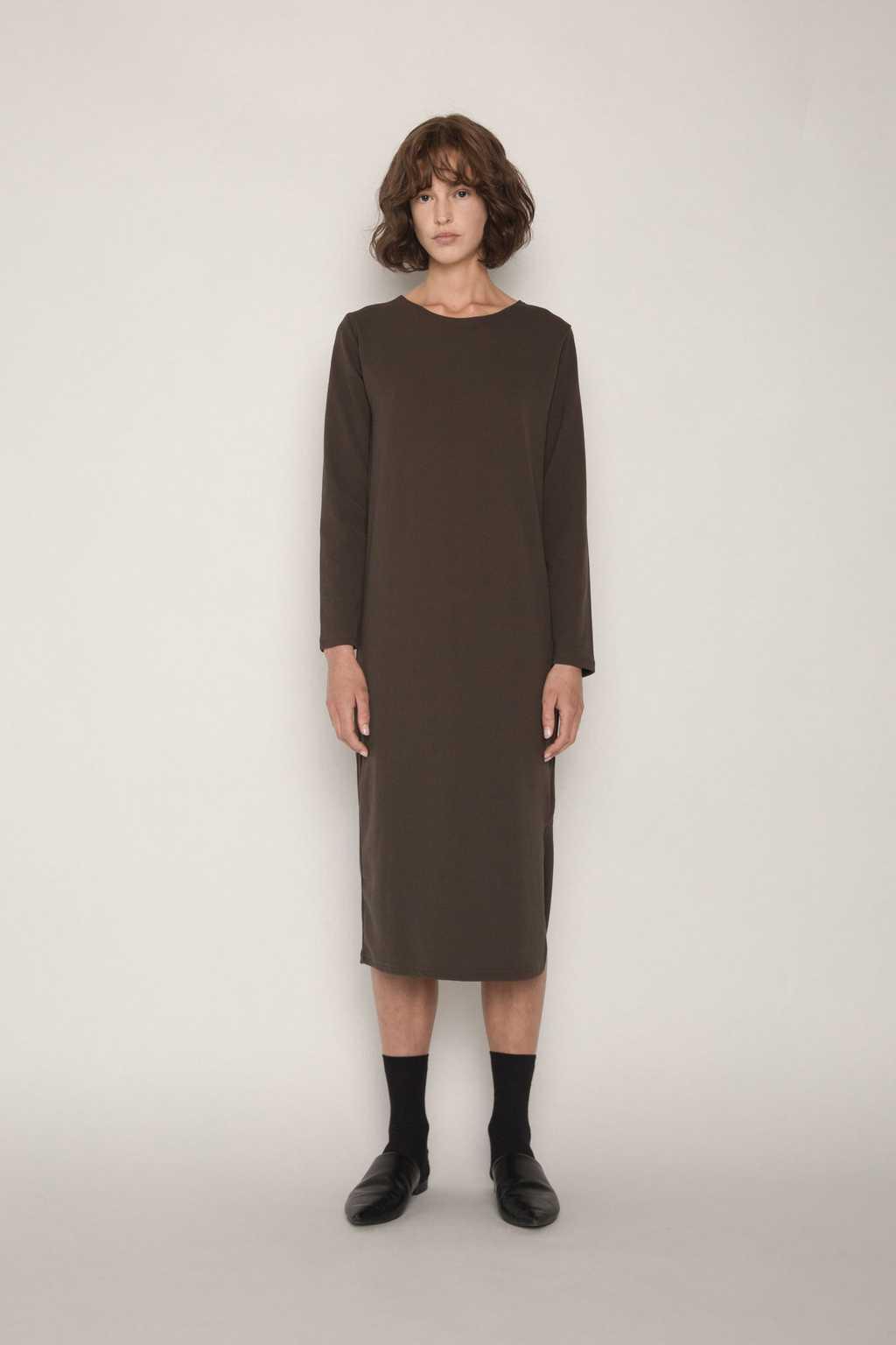 Dress H256 Olive 2