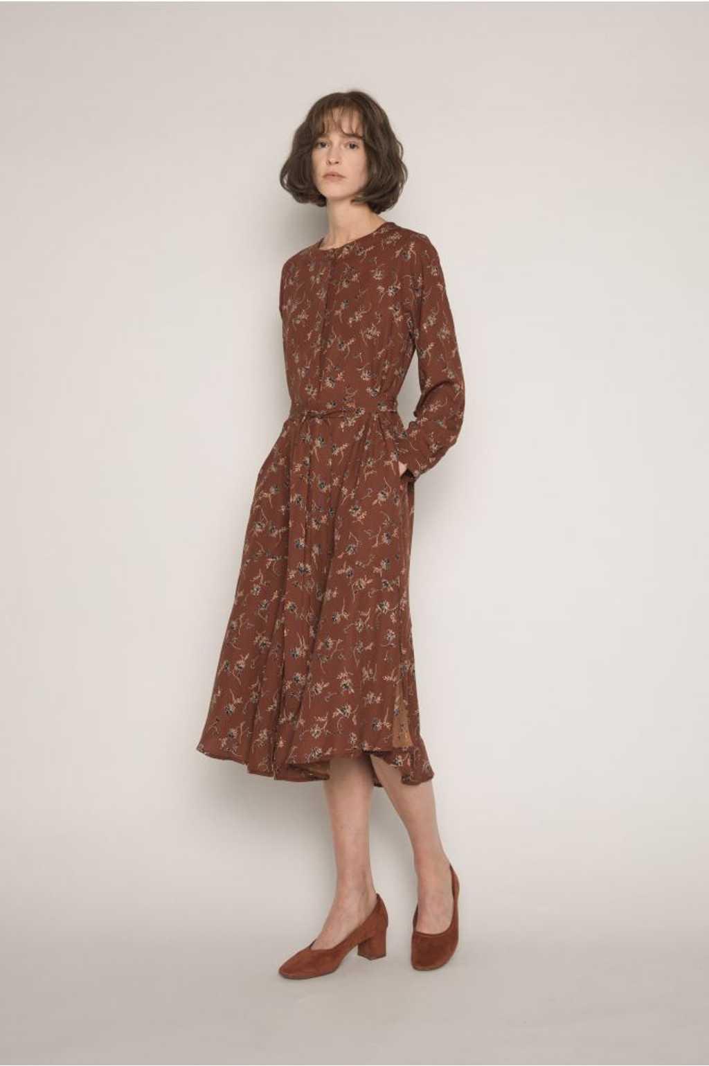 Dress H286 Brown 1