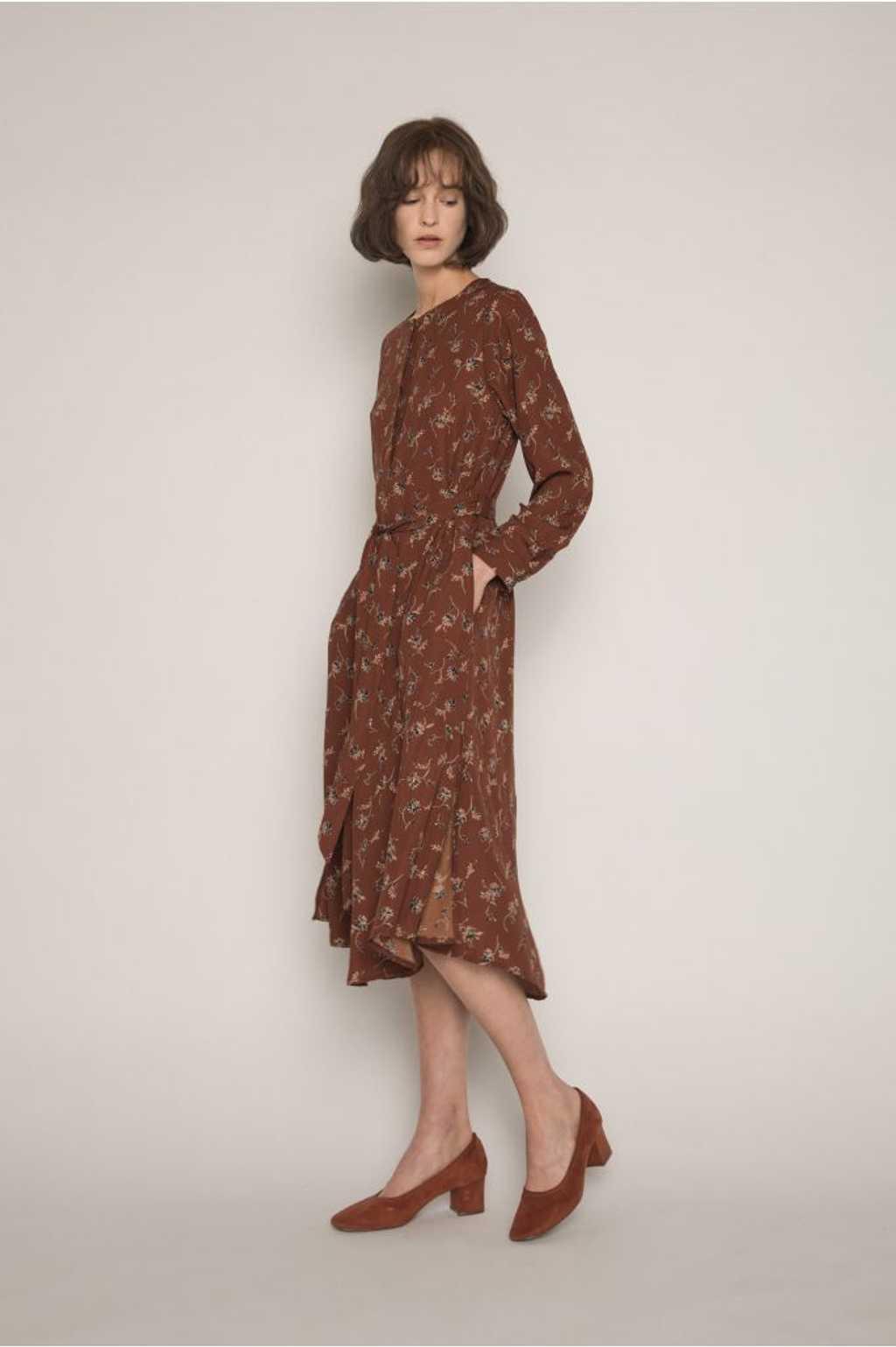Dress H286 Brown 3