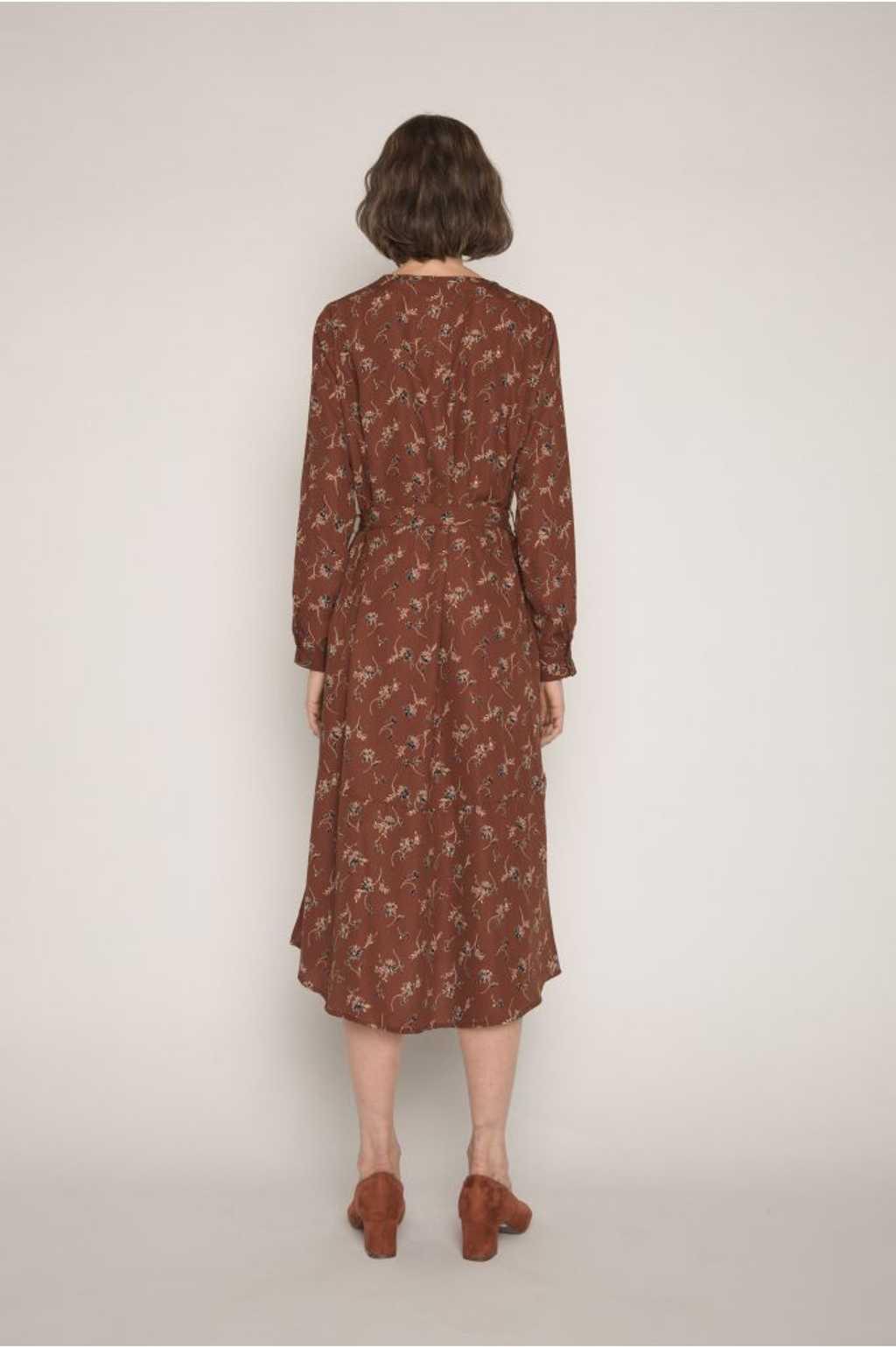 Dress H286 Brown 4