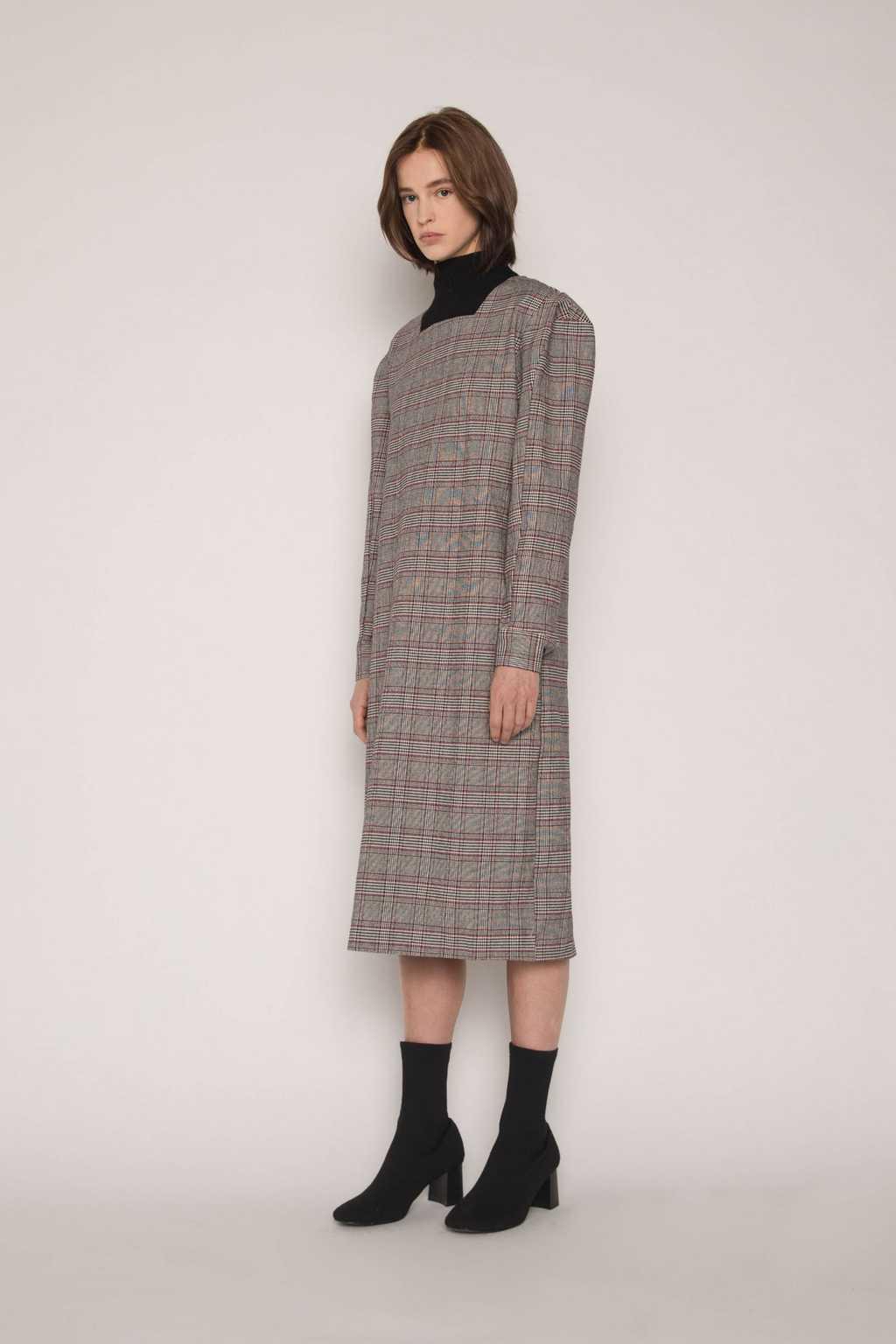 Dress H287 Gray 2