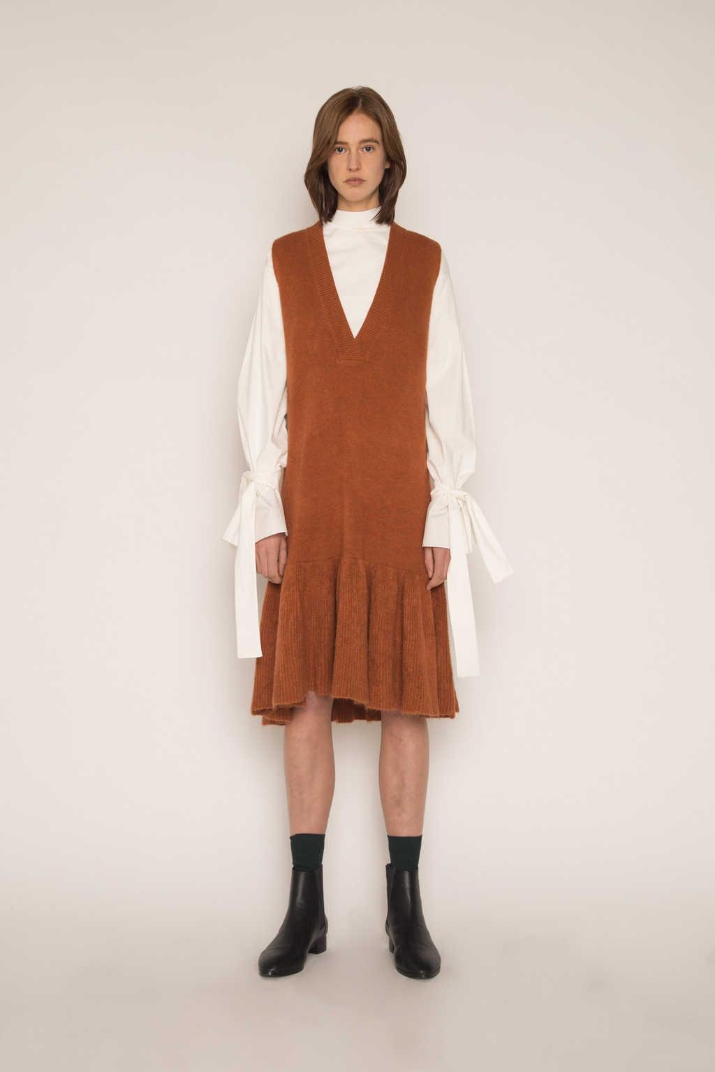 Dress H292 Brown 1