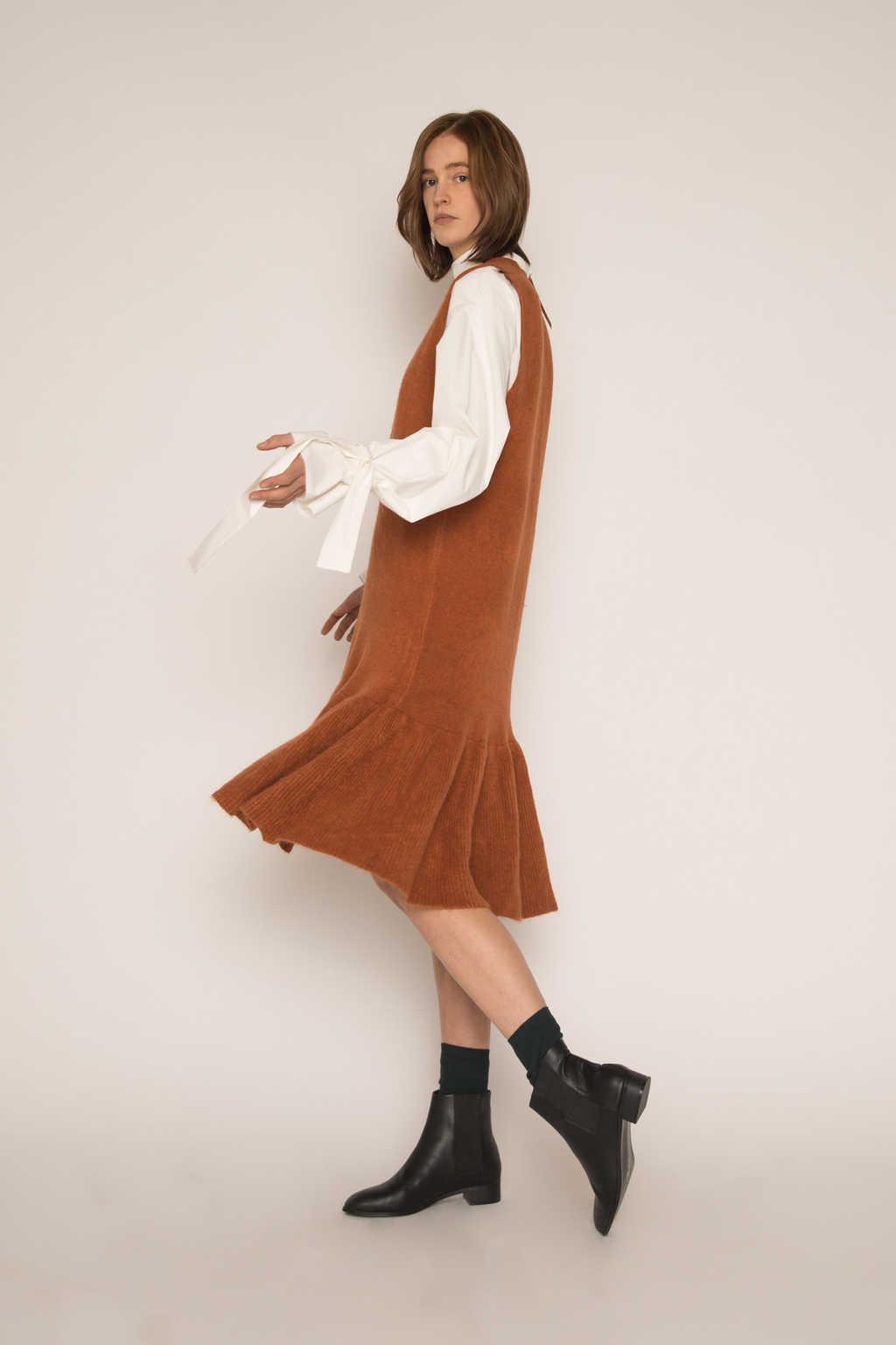 Dress H292 Brown 3