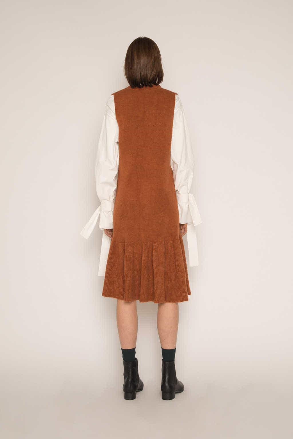 Dress H292 Brown 4