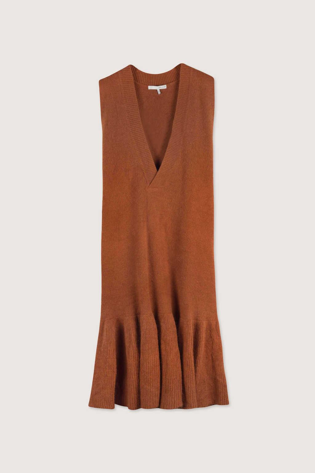 Dress H292 Brown 5