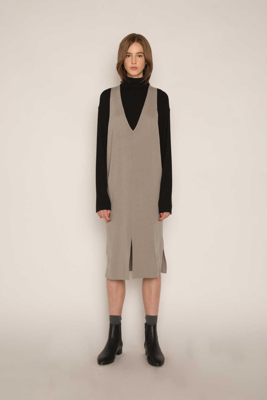 Dress H316 Gray 2
