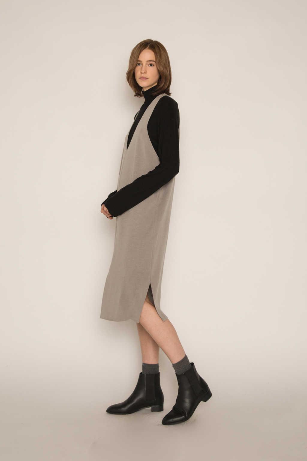 Dress H316 Gray 4