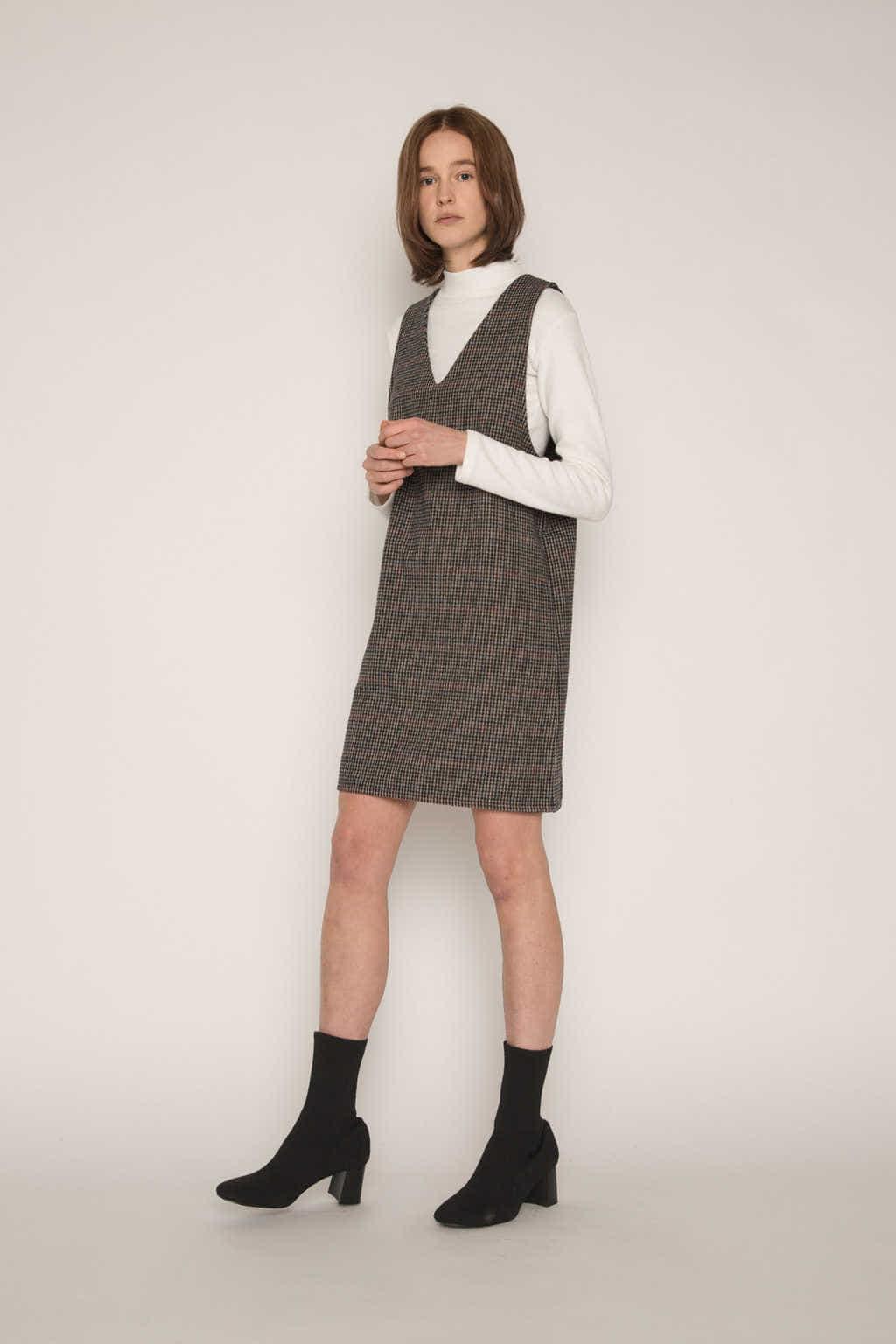 Dress H321 Brown 1