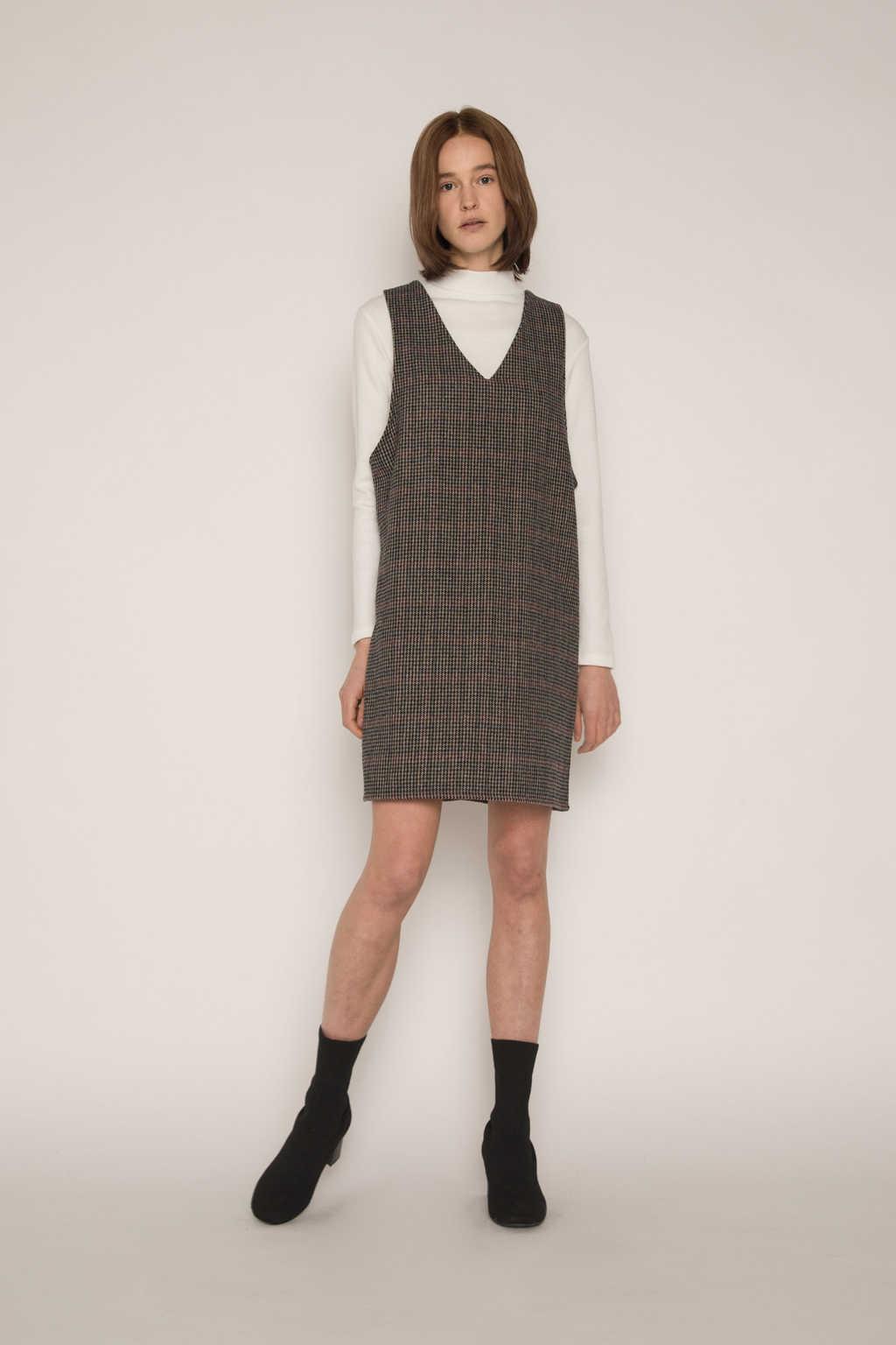 Dress H321 Brown 2