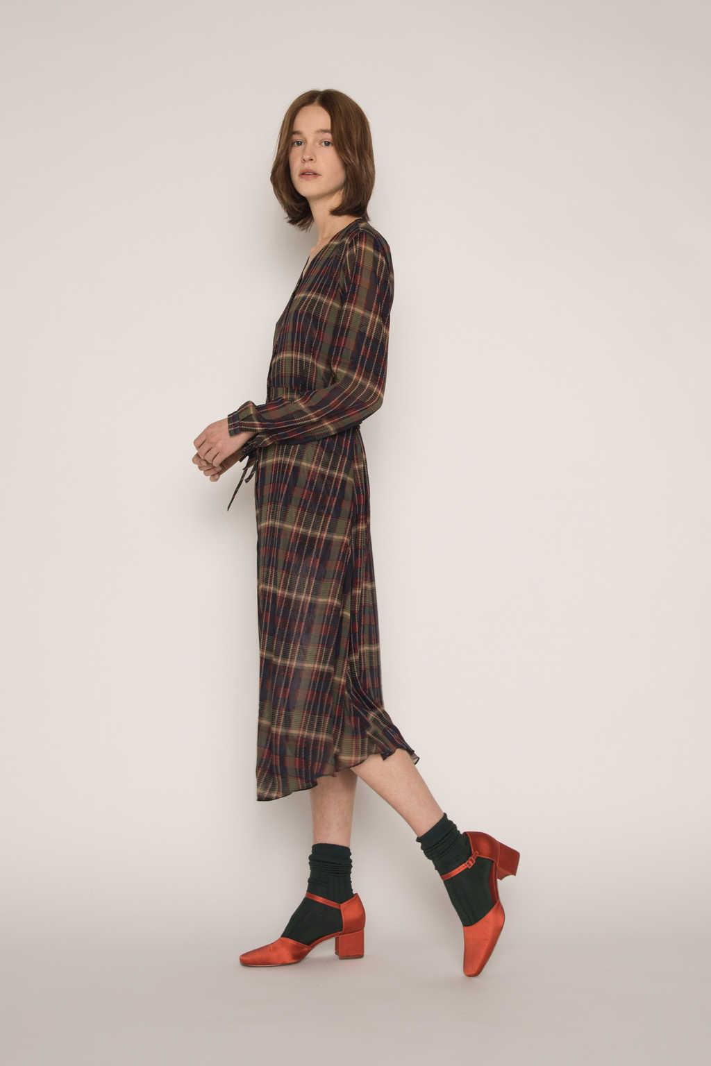 Dress H337 Olive 4