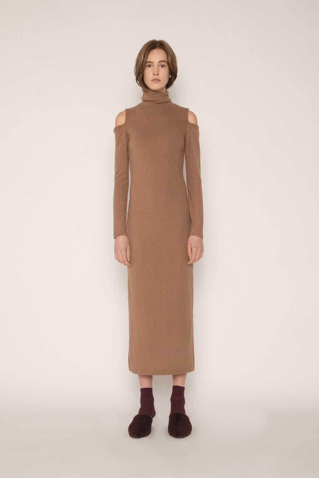 Dress H339 Beige 1