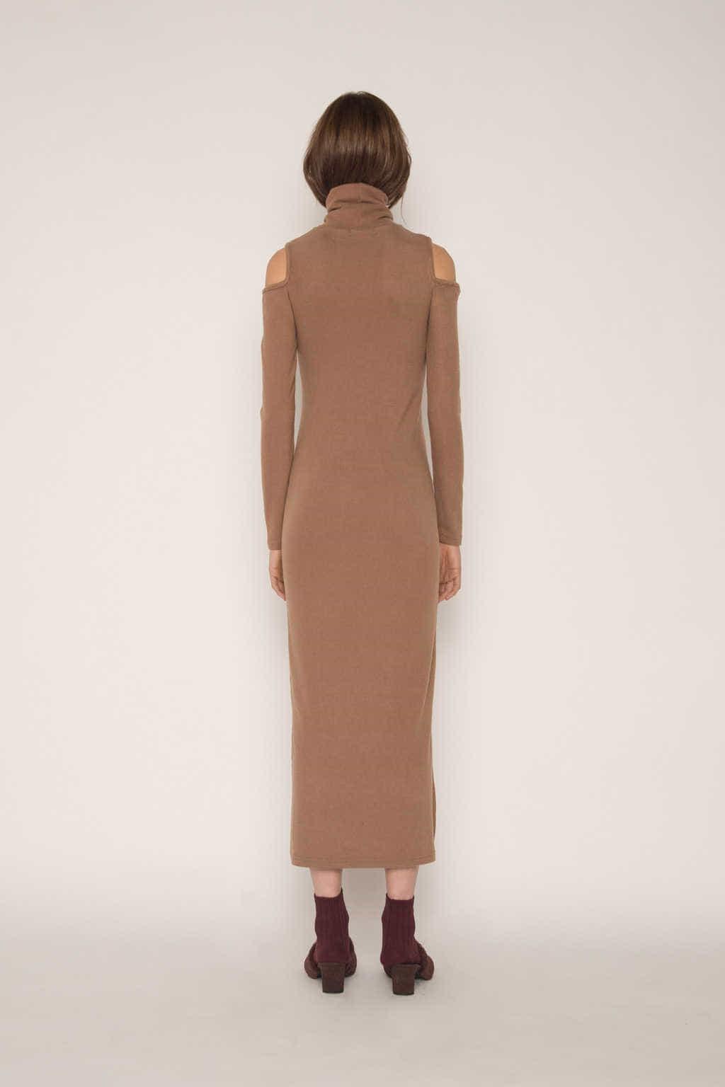 Dress H339 Beige 4