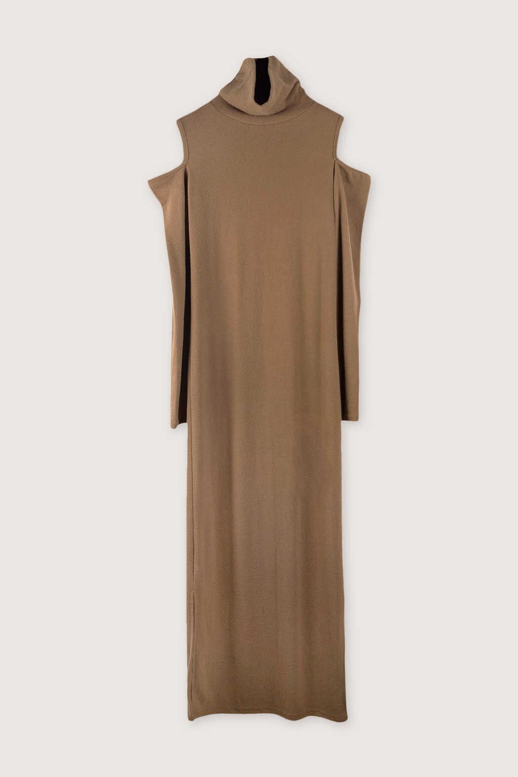 Dress H339 Beige 5