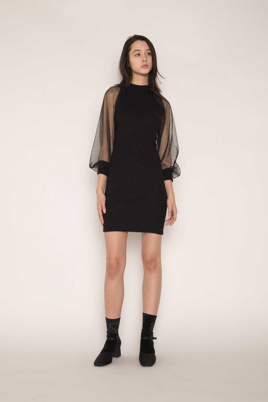Dress H341 Black 1