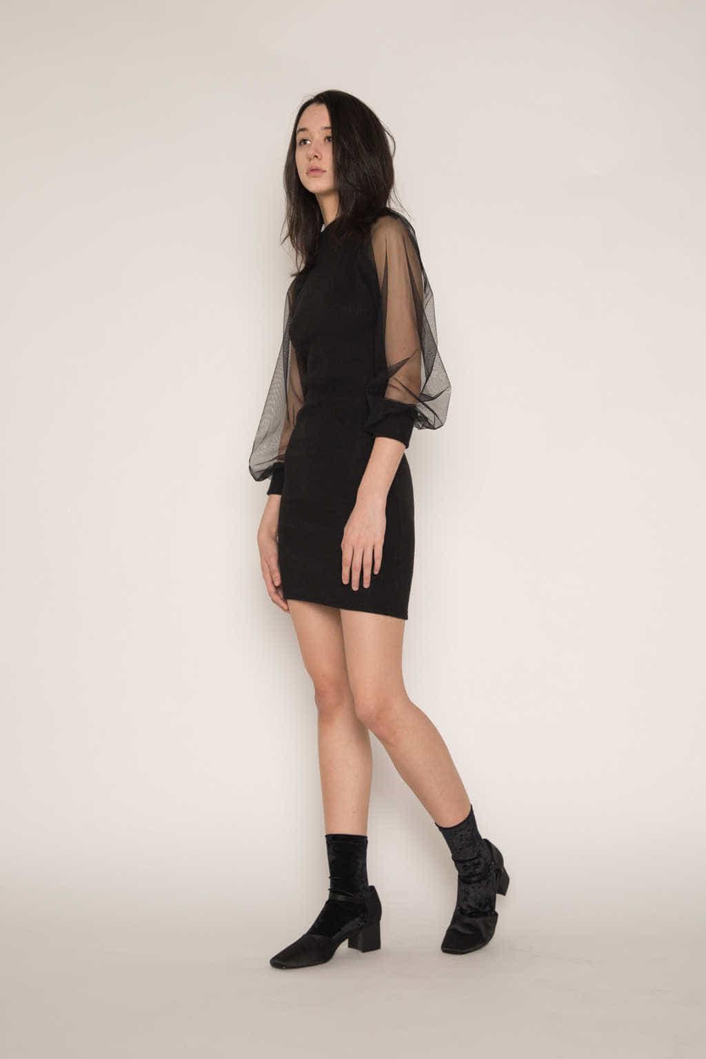 Dress H341 Black 3
