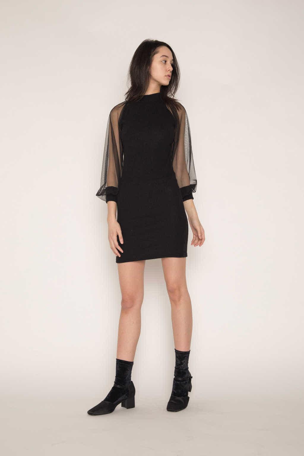 Dress H341 Black 4