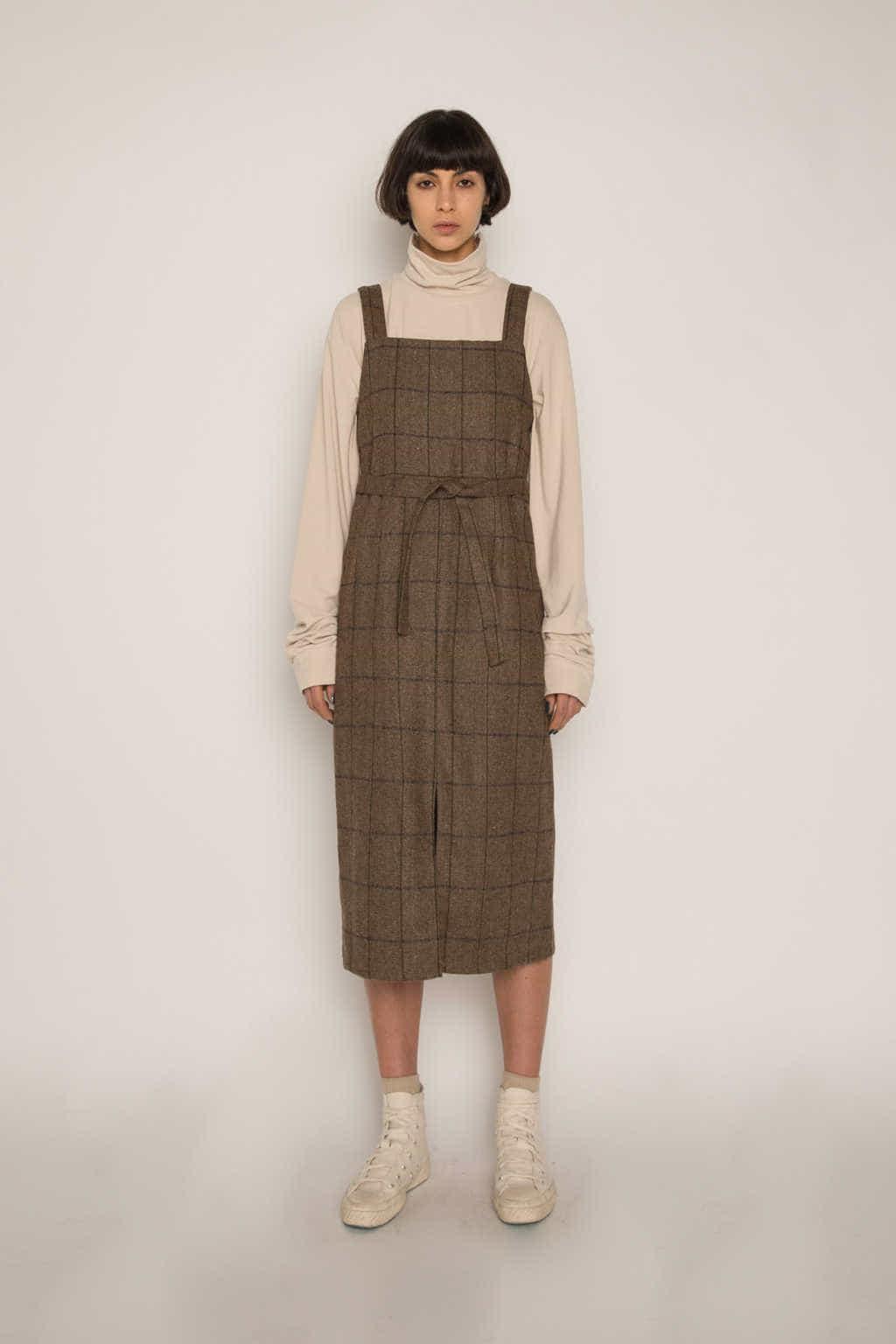 Dress H344 Beige 1