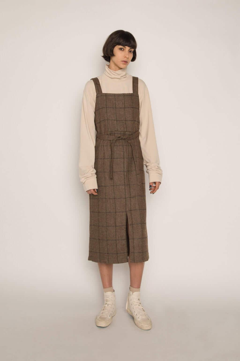 Dress H344 Beige 2