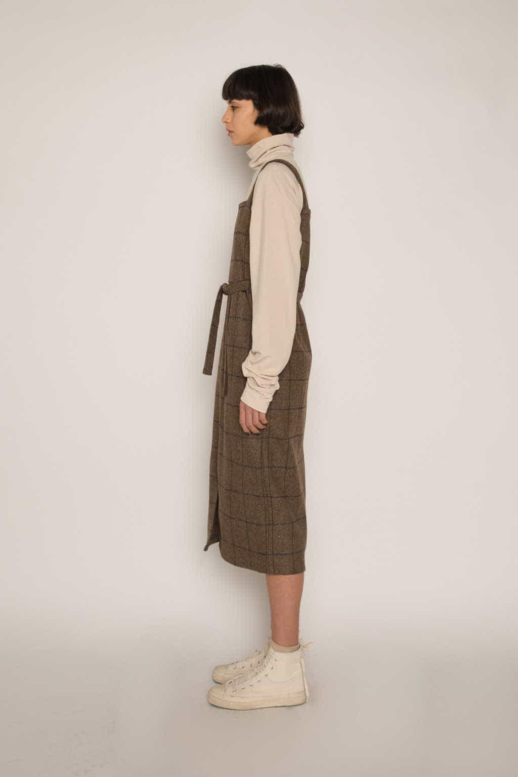Dress H344 Beige 3