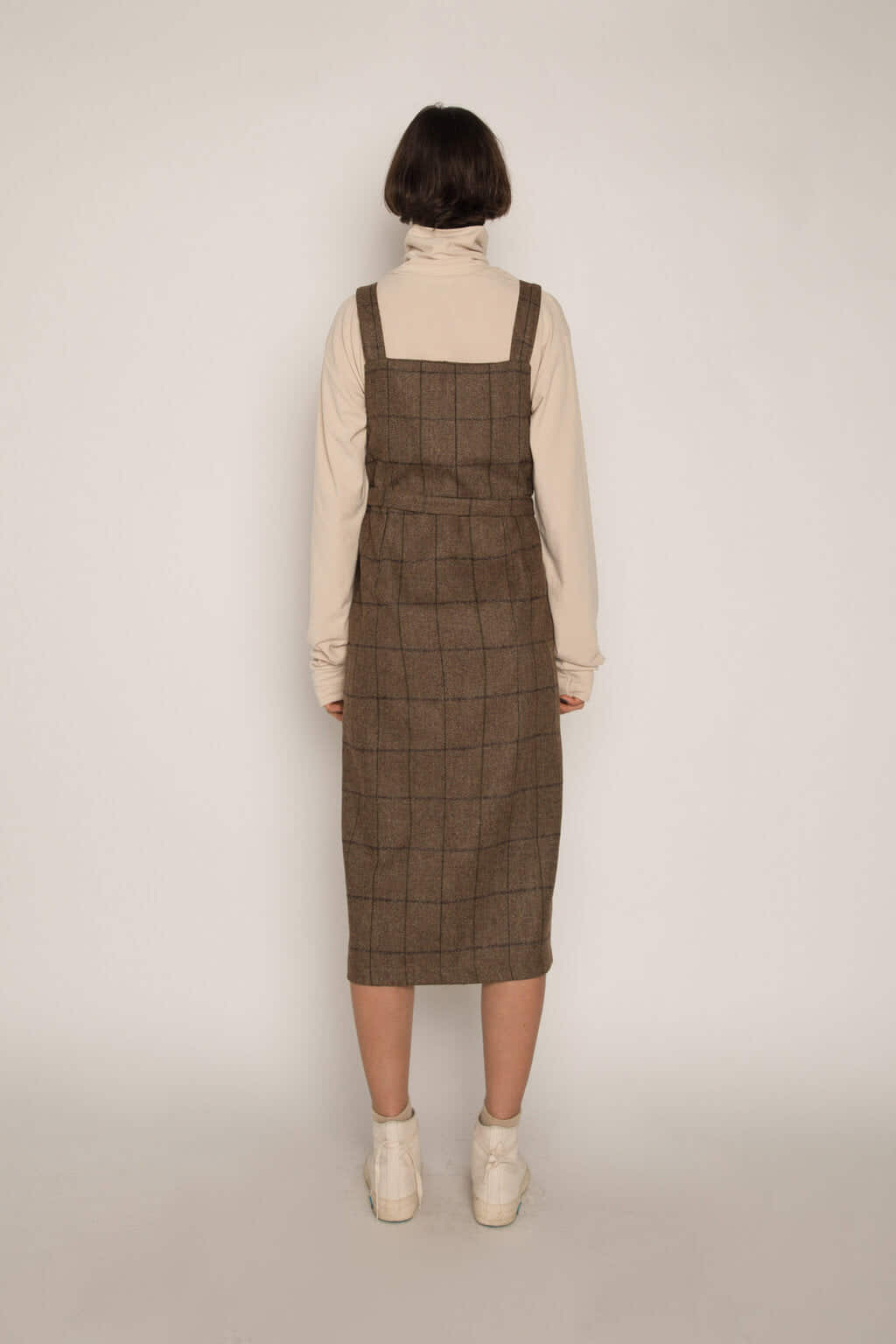 Dress H344 Beige 4
