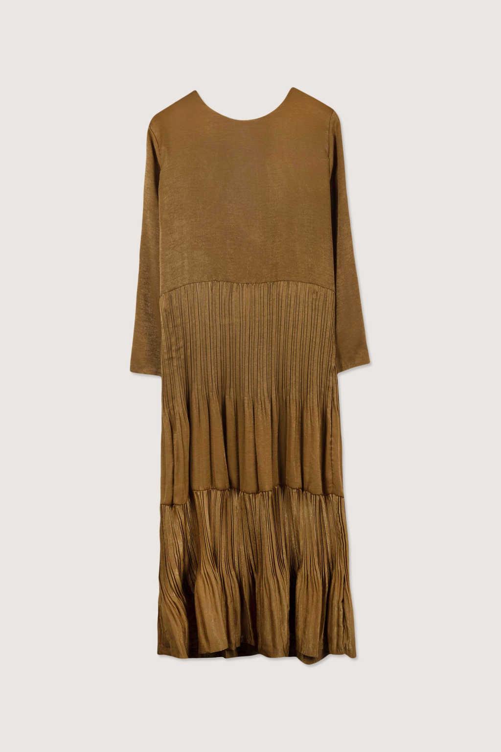 Dress H345 Beige 14